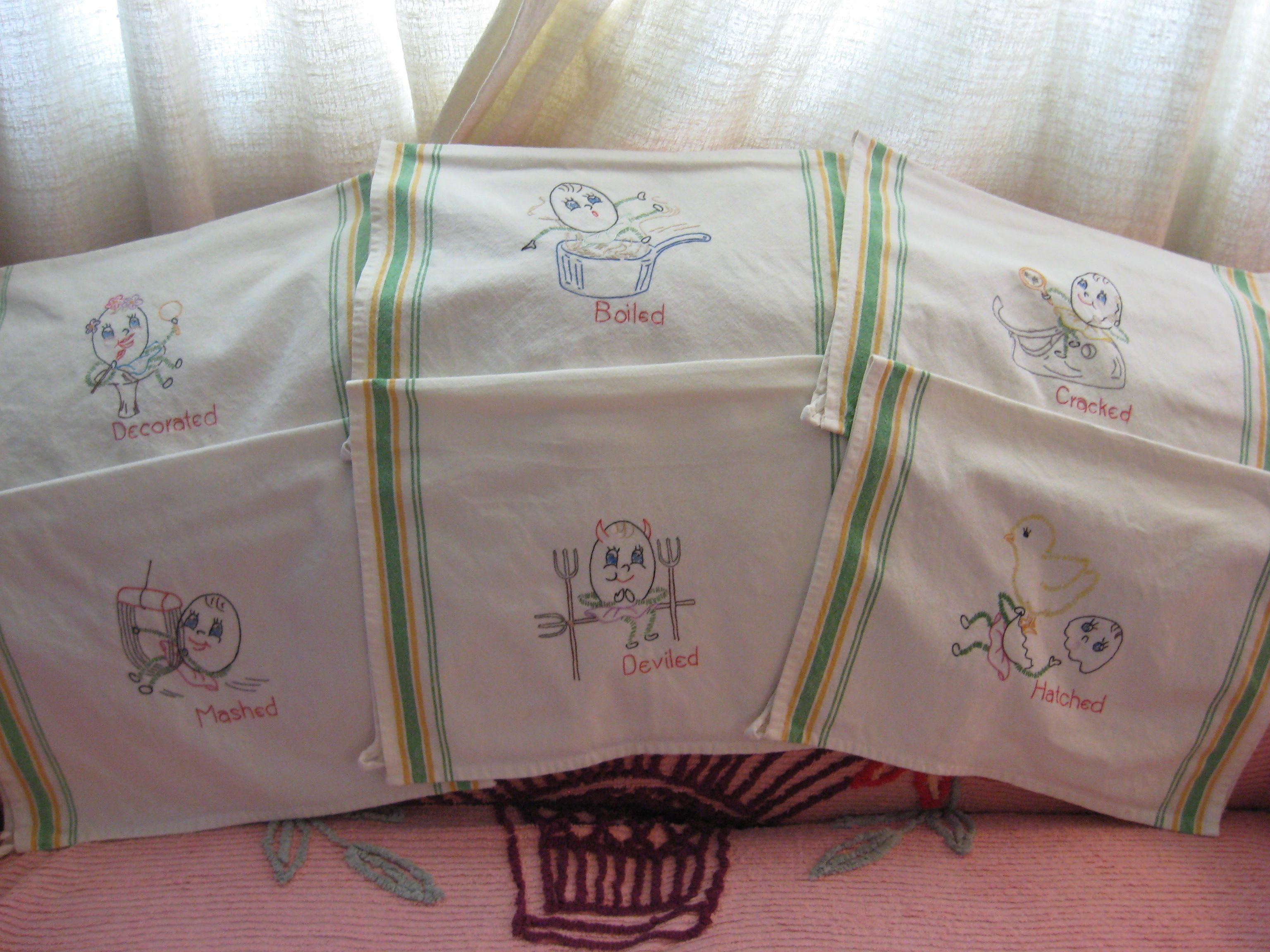 Aunt martha 3706 egg motifs for tea towels a 1940s hand aunt martha 3706 egg motifs for tea towels a 1940s hand embroidery design vintage embroidery patternshand bankloansurffo Images
