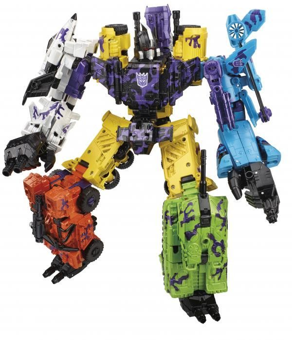 Set of 6 Includes: Onslaught Blast Off Swindle Vortrex Brawl