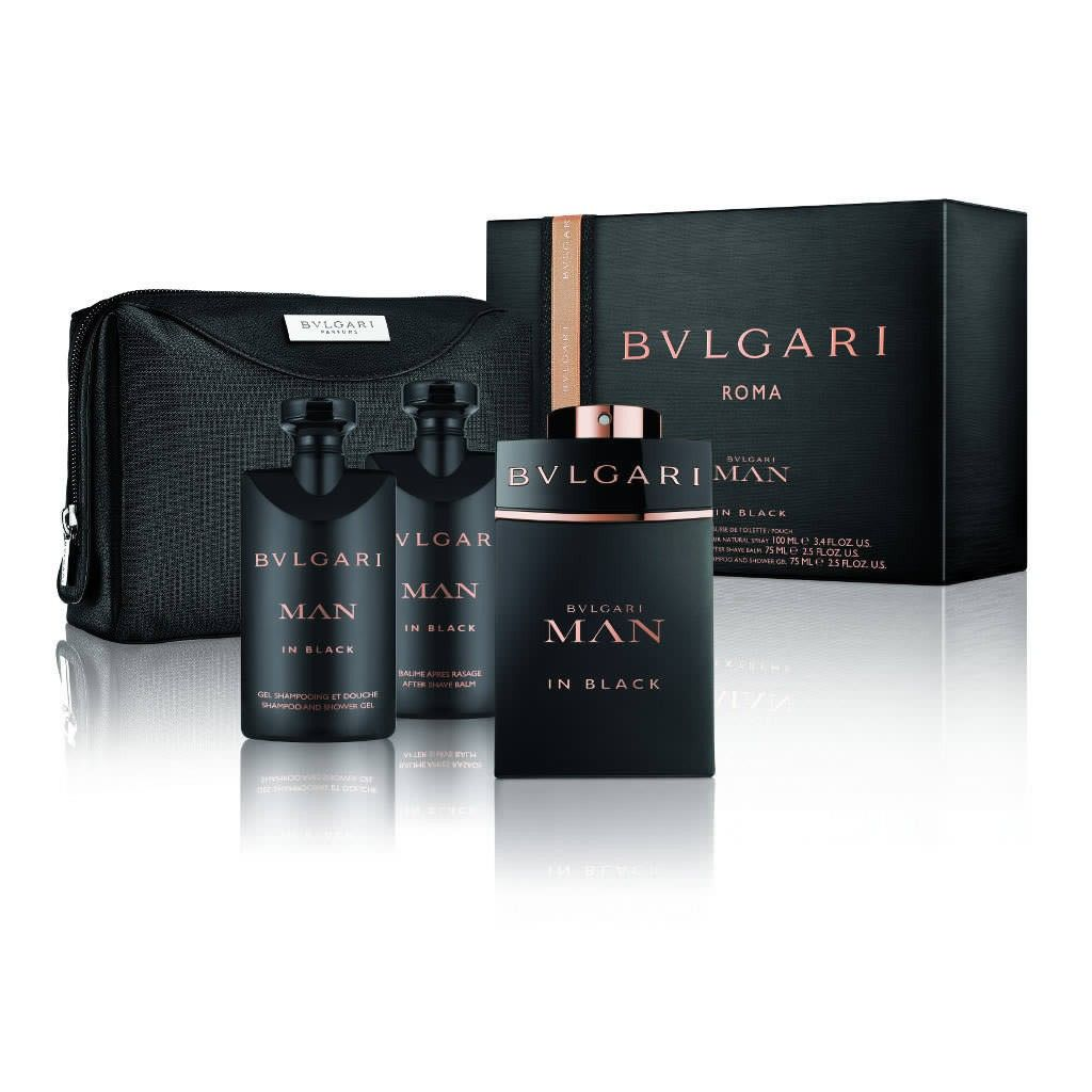 54b8b8b961bca Man in Black 100ml, after shave bálsamo 75ml, shampoo shower gel 75ml