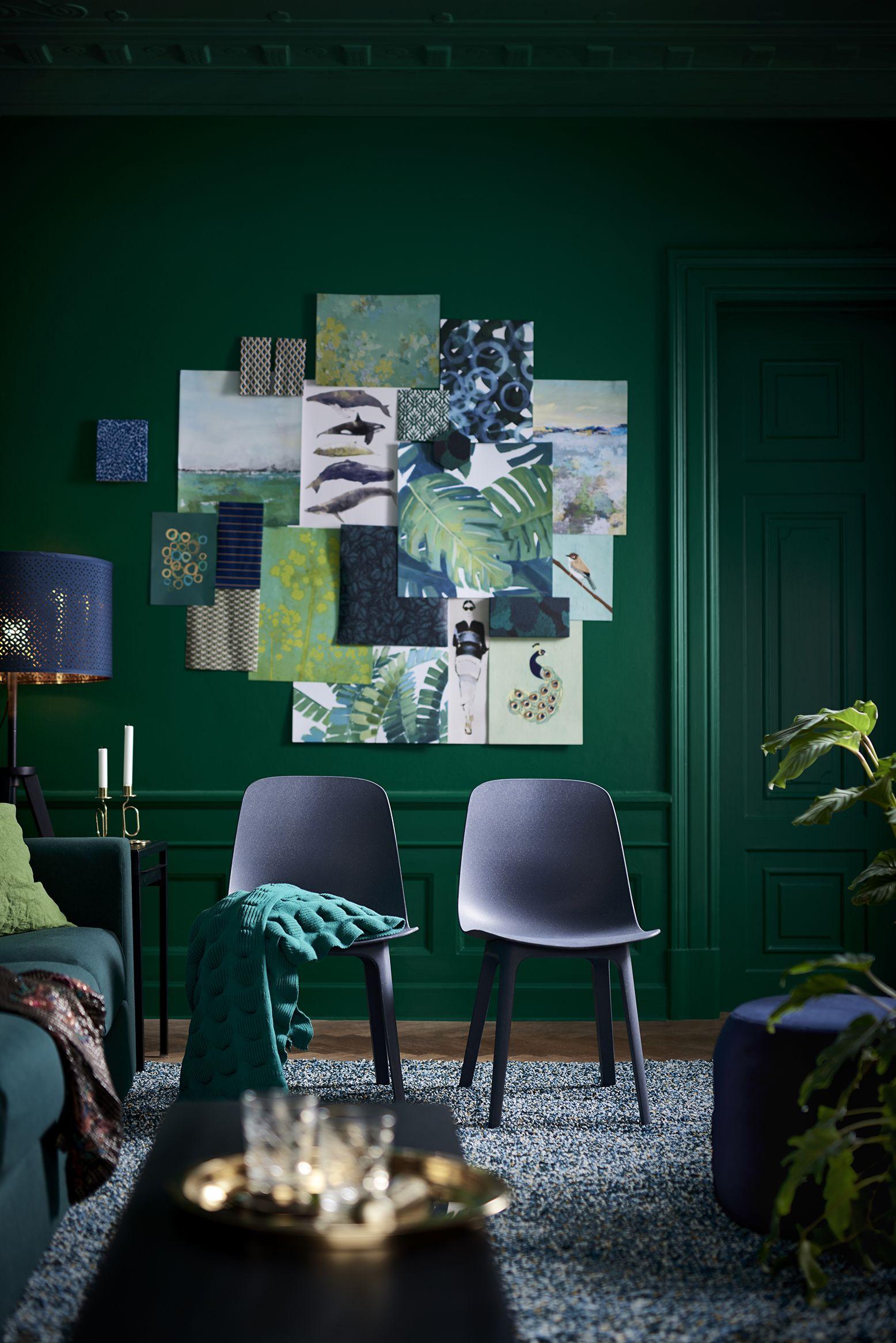 Odger Stuhl Blau Everyday Objects Ikea Dining