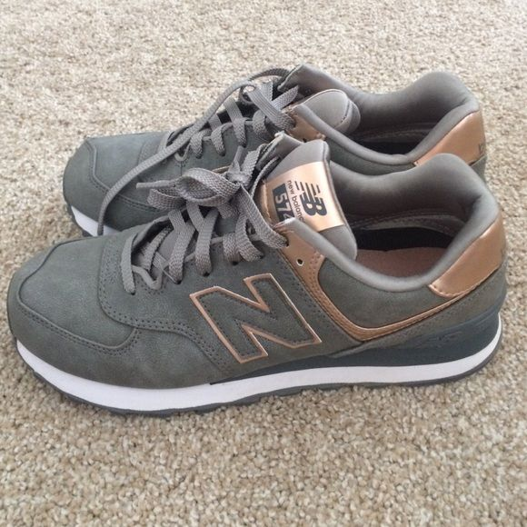 New Balance Shoes - New balance rose gold 574 size 8.5 ...