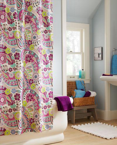 Purple Paisley Bathroom