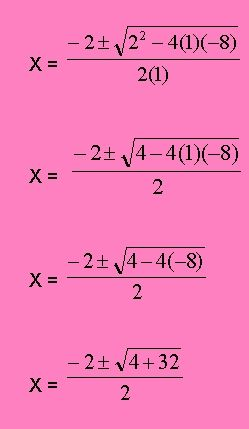 Ecuaciones Cuadráticas | Matemáticas | Pinterest | Ecuación ...