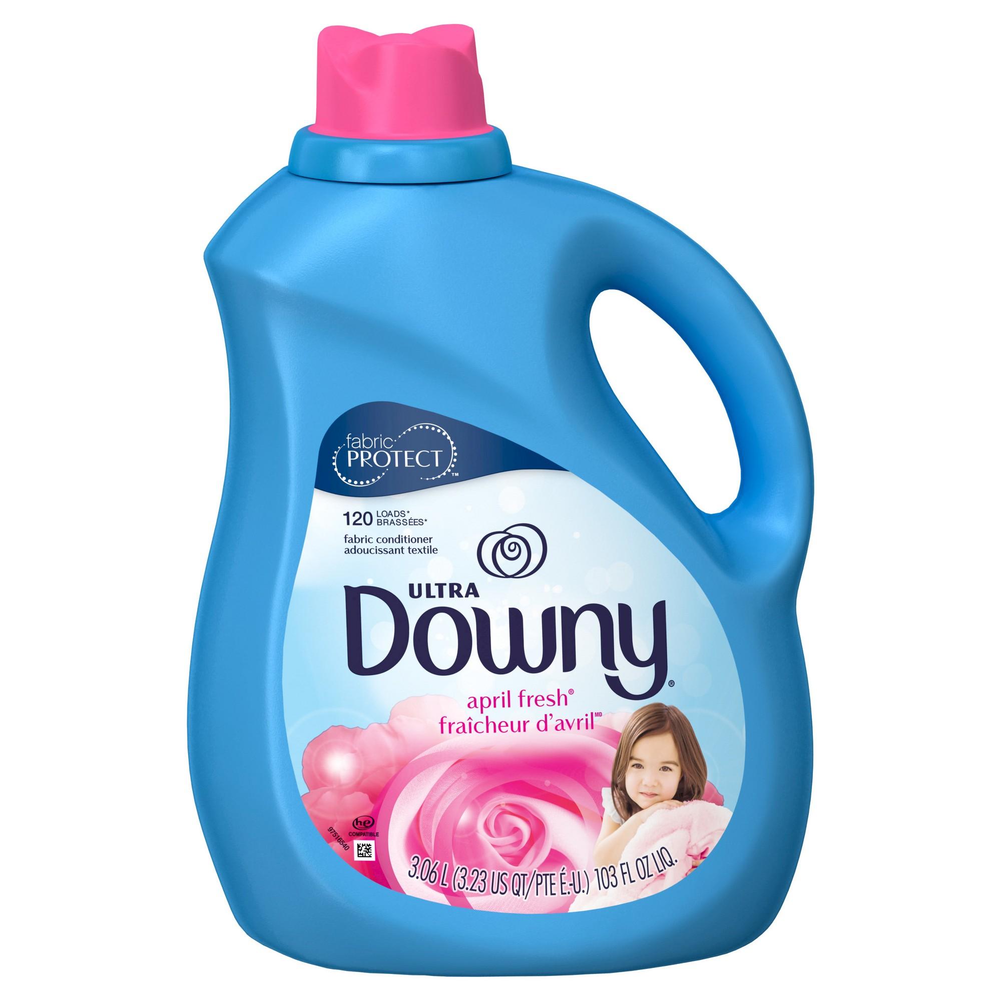 Ultra Downy April Fresh Liquid Fabric Conditioner 103 Fl Oz Groceries Downy Fabric Softener Fabric Softener