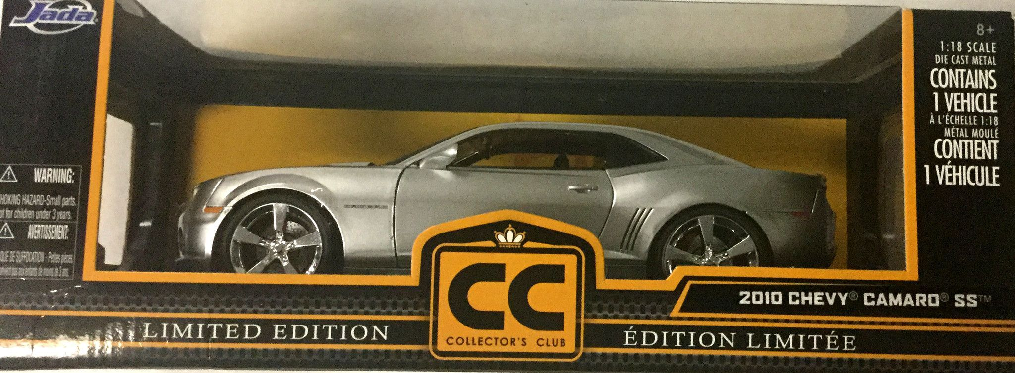Diecast king maisto 1998 chevrolet corvette indy 500 pace car - Jada 2010 Chevy Camaro Ss 1 18 Scale Diecast Collectible Model