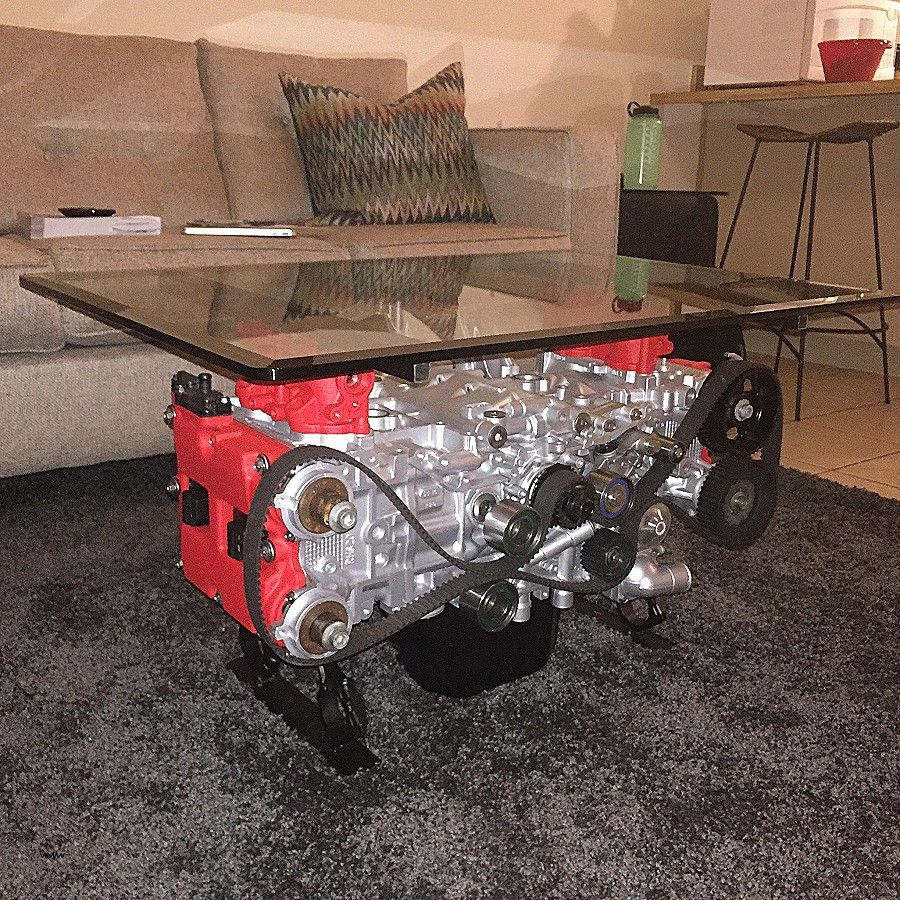 Table Basse V8 New Coffee Table Coffee Table Engine Block V8 With