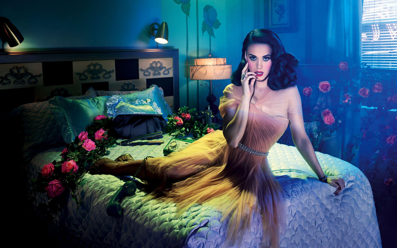 Katy Perry Singer Blue Hair Woman People Hd Wallpaper 1228148: Katy Perry, Katy Perry Wallpaper