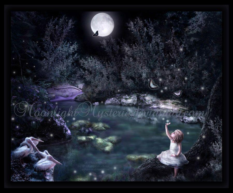 A Child's Dream by MoonlightMysteria on DeviantArt Cats