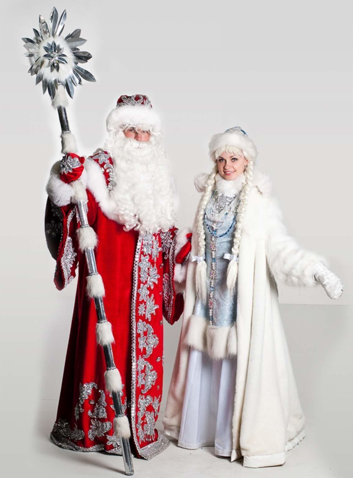 Samye Krasivye Ded Moroz I Snegurochka Kostyum Ded Moroz Fotografii