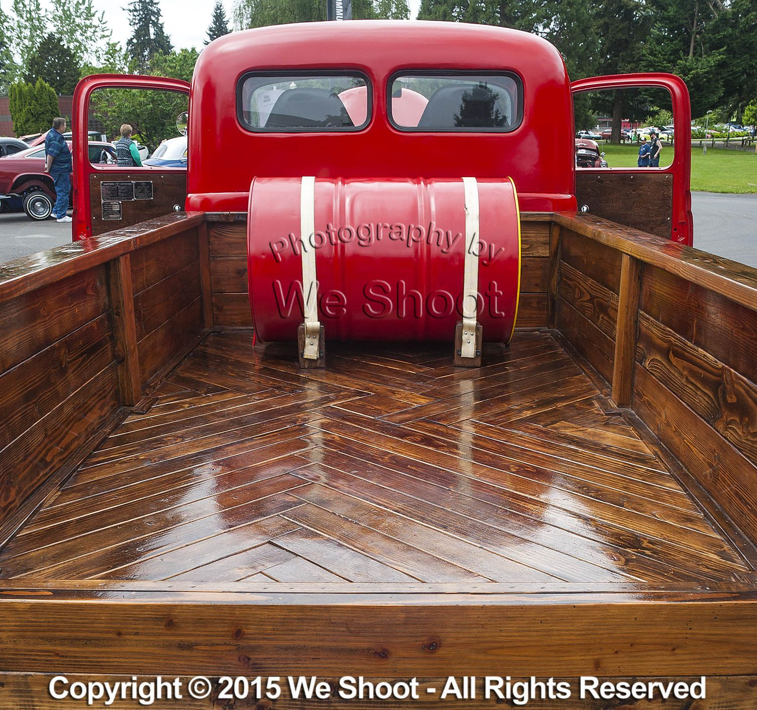 Beautiful woodlined truck bed by Seattle Commercial