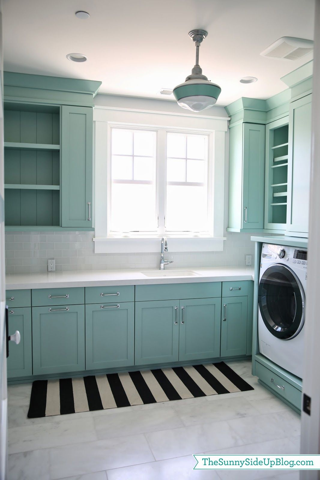 Laundry Room Rugs The Sunny Side Up Blog Teal Laundry Rooms