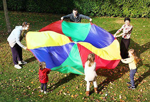 5m Arco Iris Color Kenley 3 De Paracaídas Niños Juego Para CWdoerxB