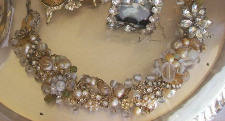 "White ""Garbage Necklace"" by Angela Resendiz"