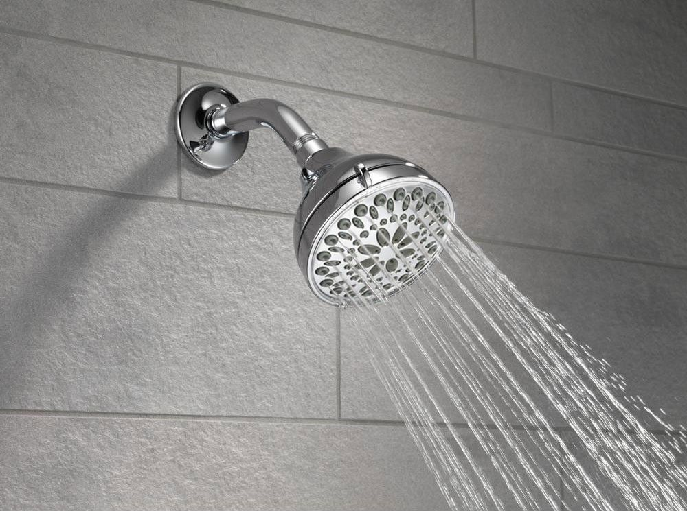 Delta Faucet 75551 5 Spray Shower Head Faucet Swivel Touch Clean