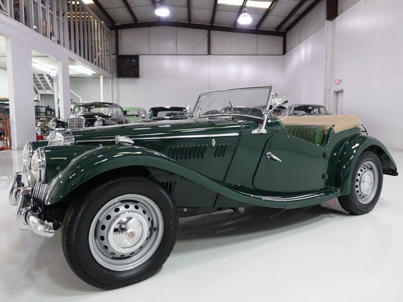 1954 MG TF Roadster | Body-off-frame restoration | Cars