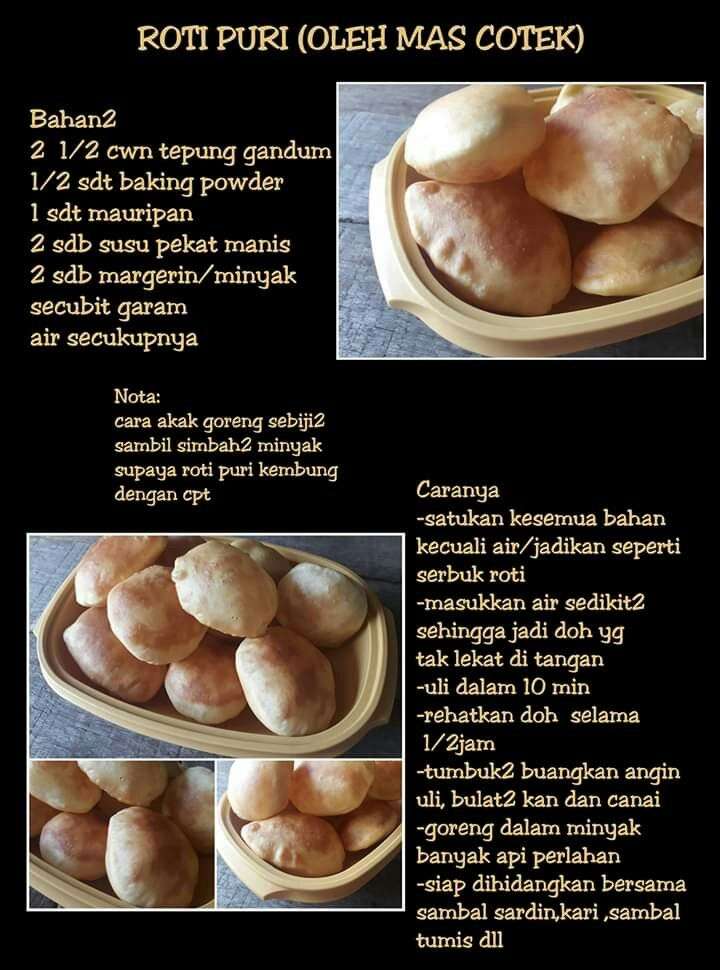 Roti Puri Recipes Asian Desserts Cooking Recipes