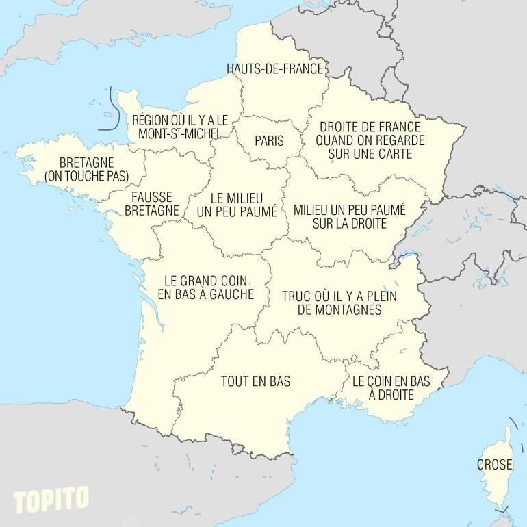 """Résultat de recherche d'images pour """"caricature géographie de la france"""""""