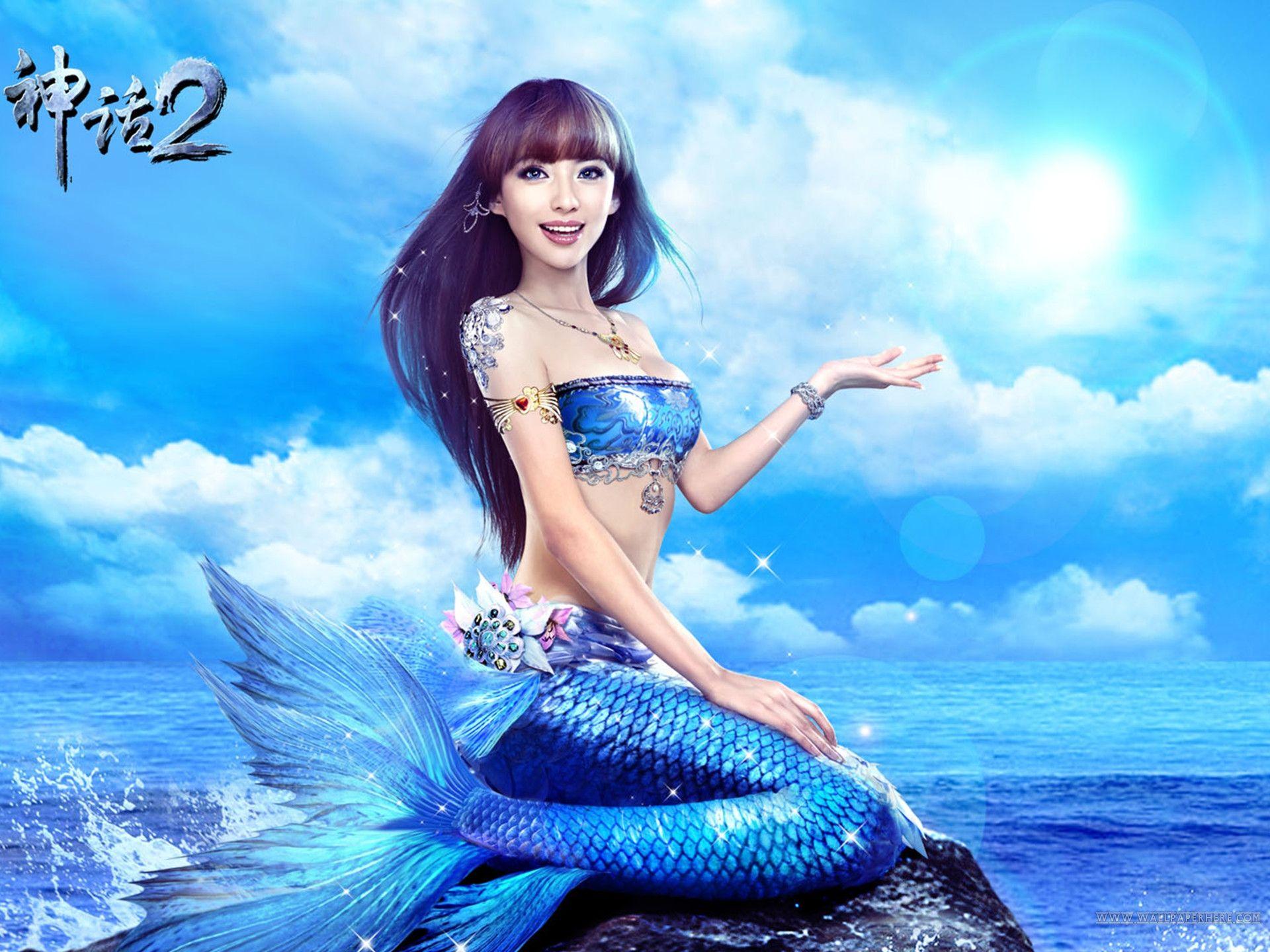 mermaid page 1