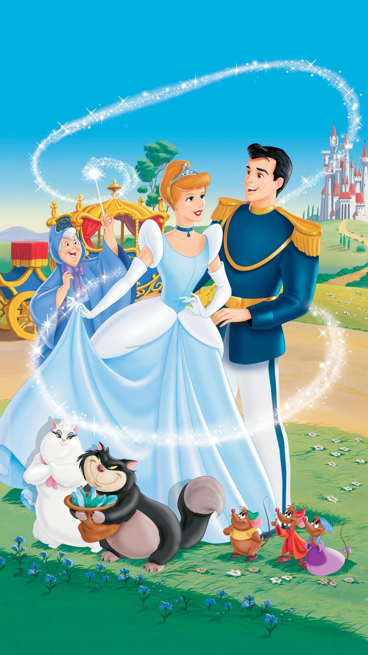 Cinderella 1950 Phone Wallpaper Moviemania Iphone Background Disney Cinderella Wallpaper Disney Princess Images