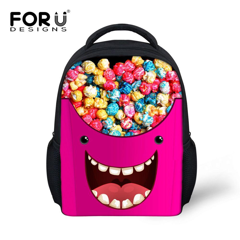 Girls Pink Preschool Toddler Childrens Backpack /& Lunch Box Set Sugar Skull
