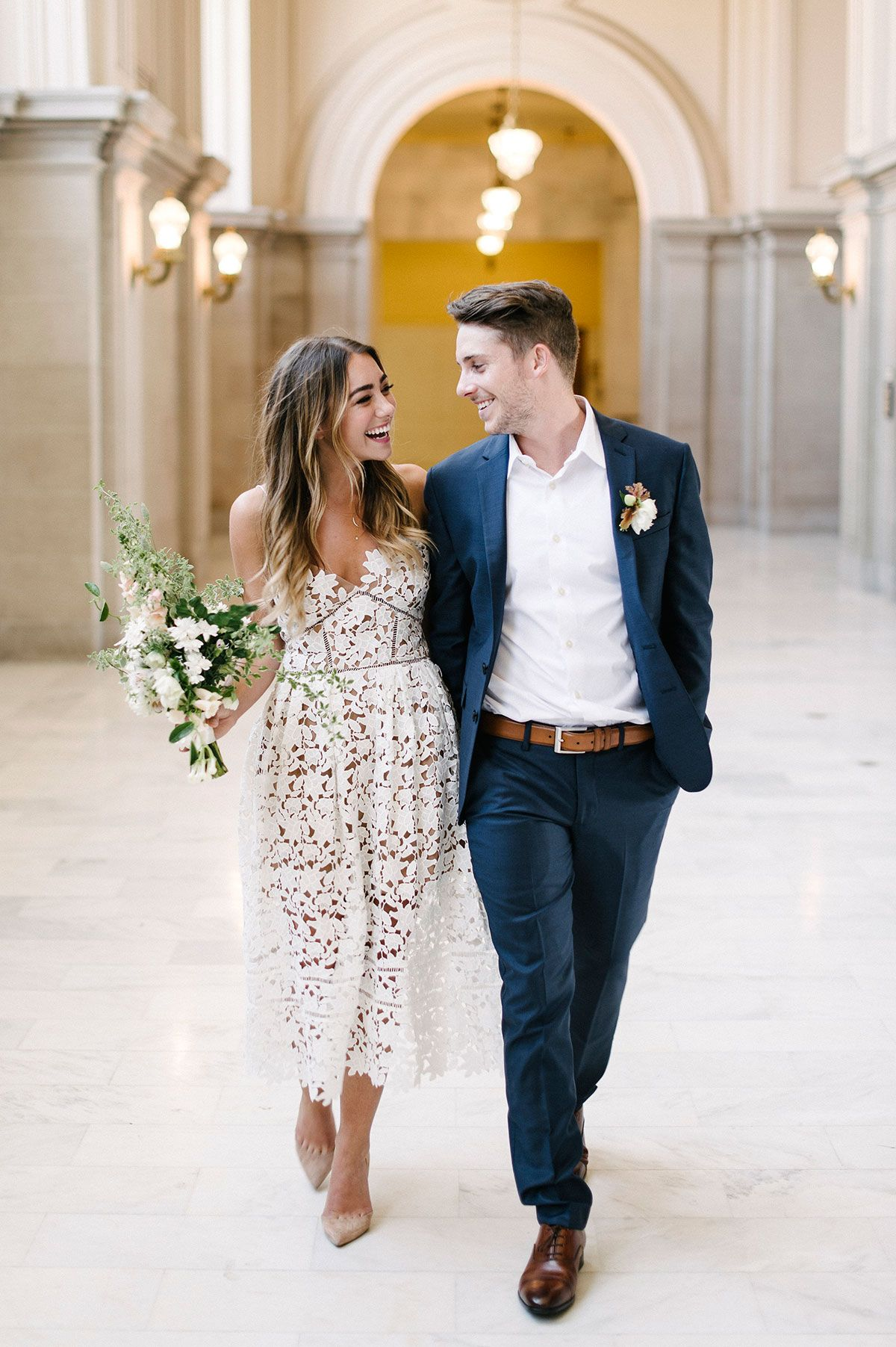 courthouse wedding dresses Ten City Hall Wedding Tips bride and groom wedding photography elopement ideas