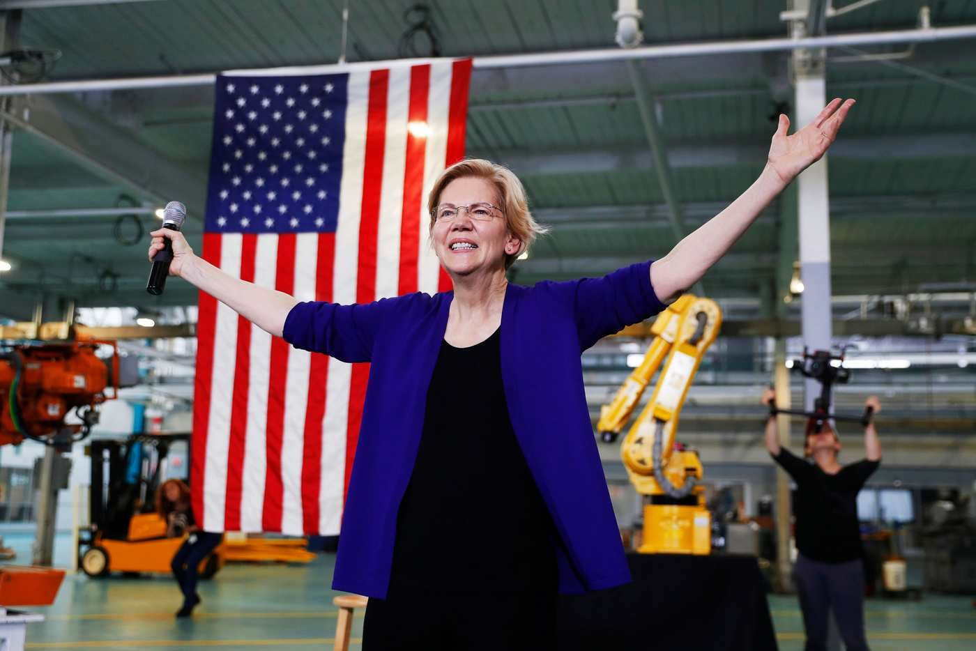 Economic Current Events 2020.Warren S Economic Patriotism Plan Beats Trump At His Own