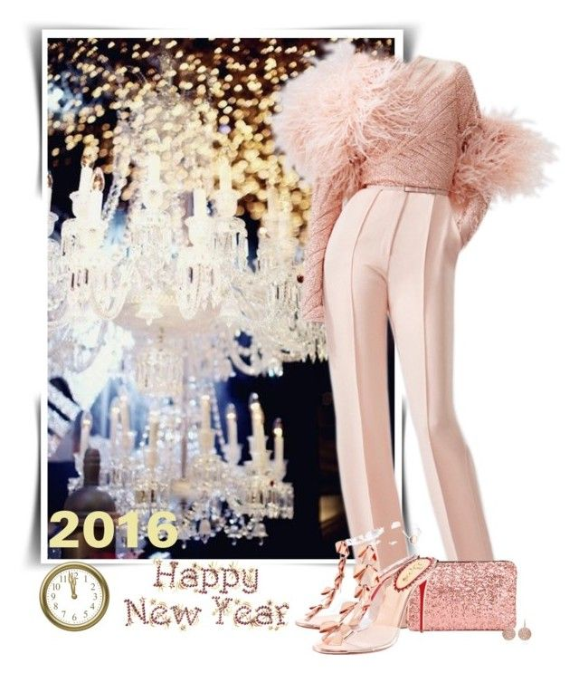 """""""Happy New Year"""" by barbarapoole ❤ liked on Polyvore featuring Elie Saab"""