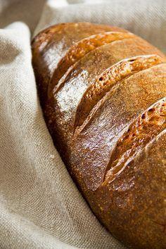 Dinkelmischbrot über Nacht - Plötzblog - Selbst gutes Brot backen