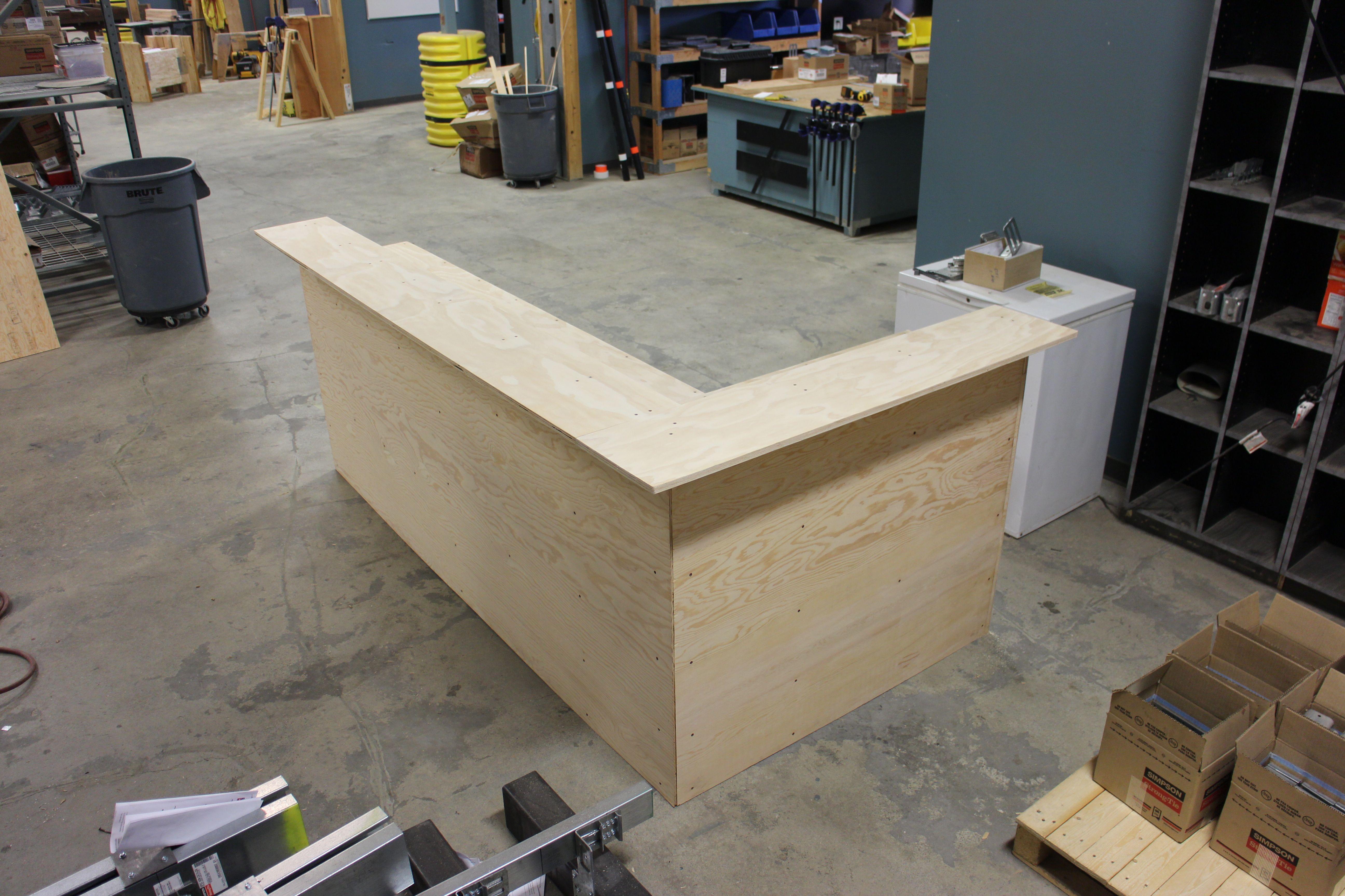 Our interns built a DIY bar Learn how you can build our own DIY bar