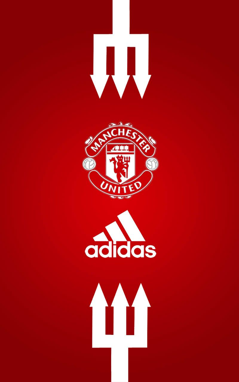 Man Utd Bedroom Wallpaper Manchester United Adidas Android Wallpaper Red Manchester United