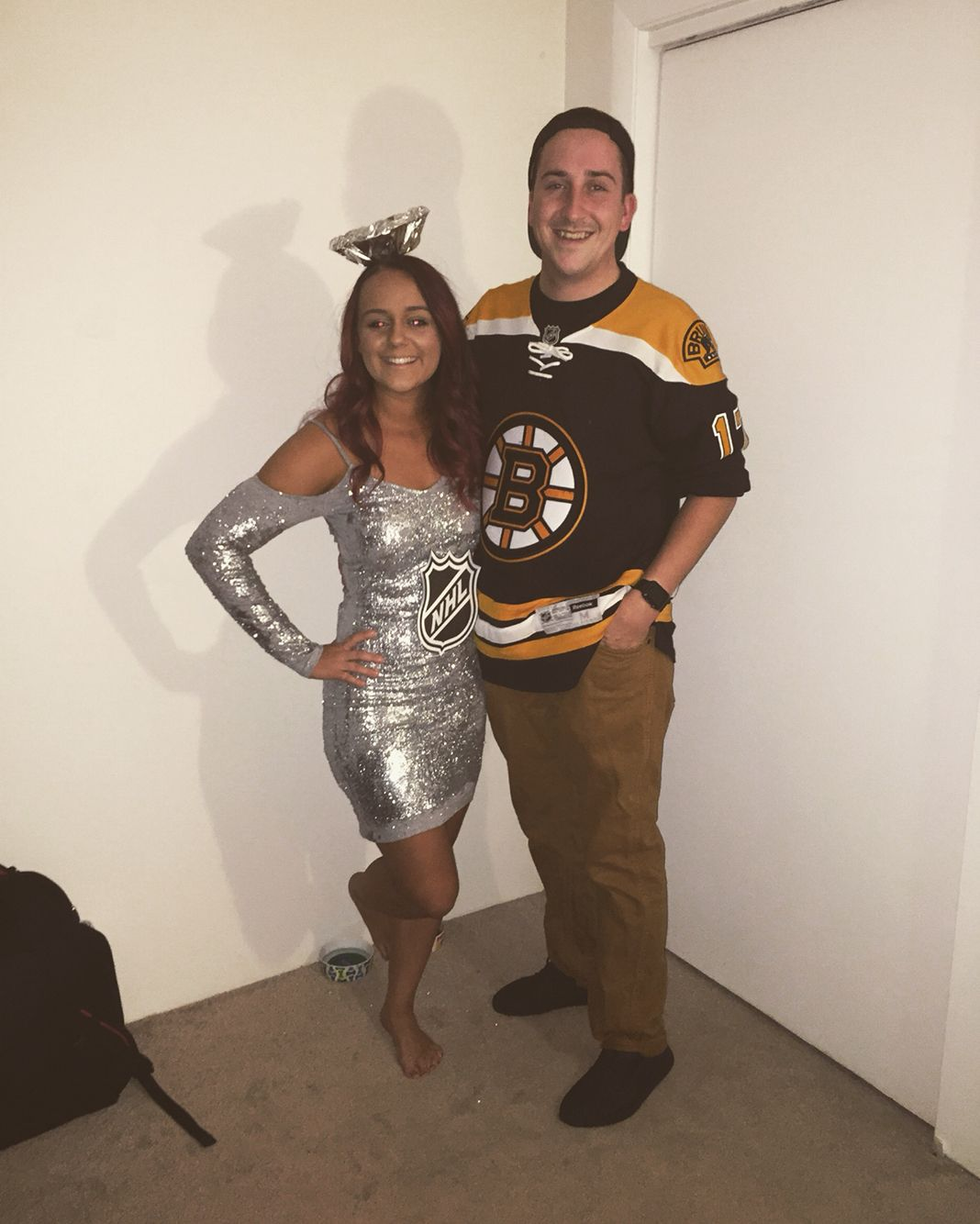 Stanley cup costume! #couple #costume #nhl | Halloween | Pinterest ...