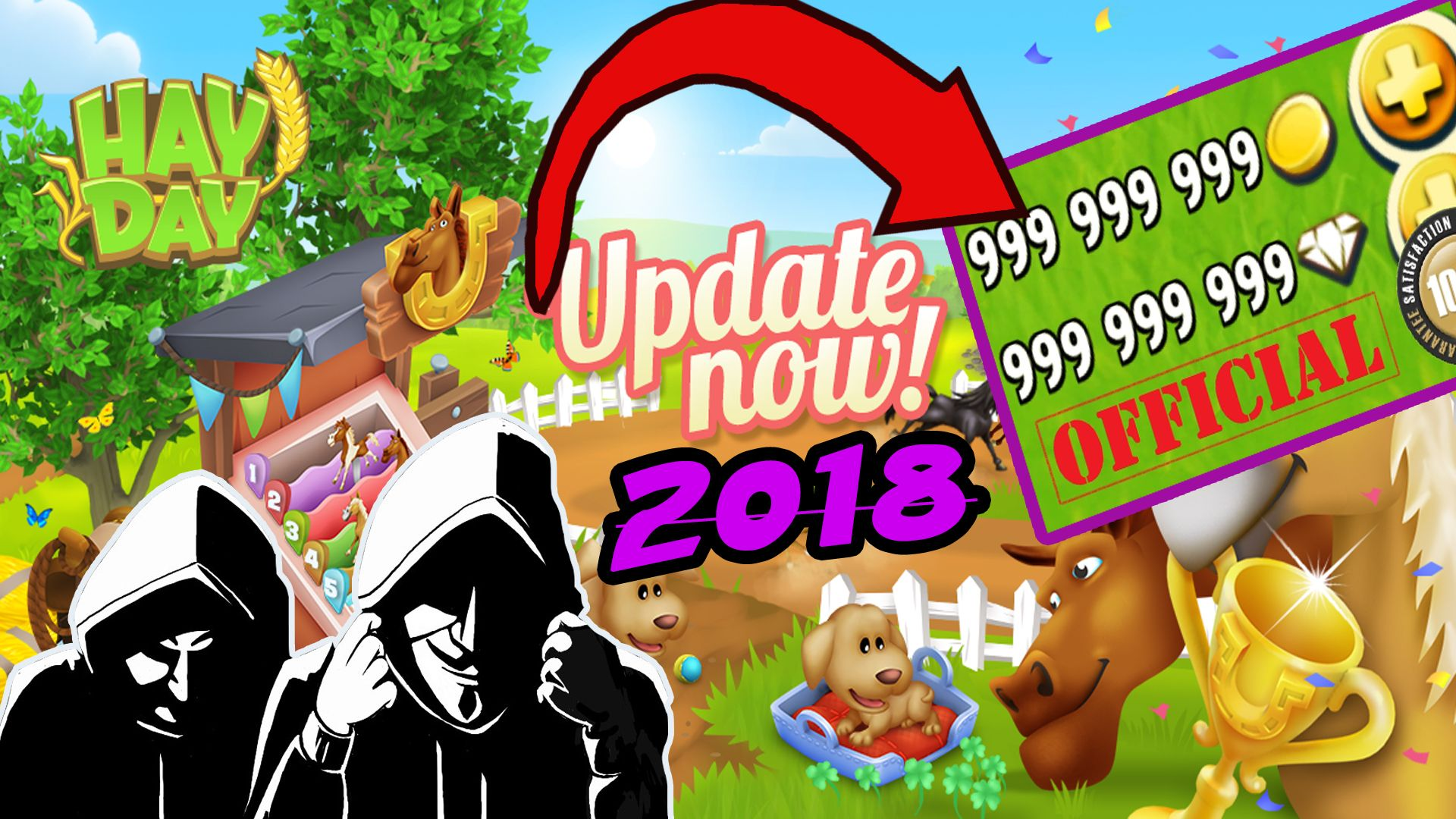 HAY DAY HACK *9999888* UNLIMITED COINS & DIAMONDS [IOS