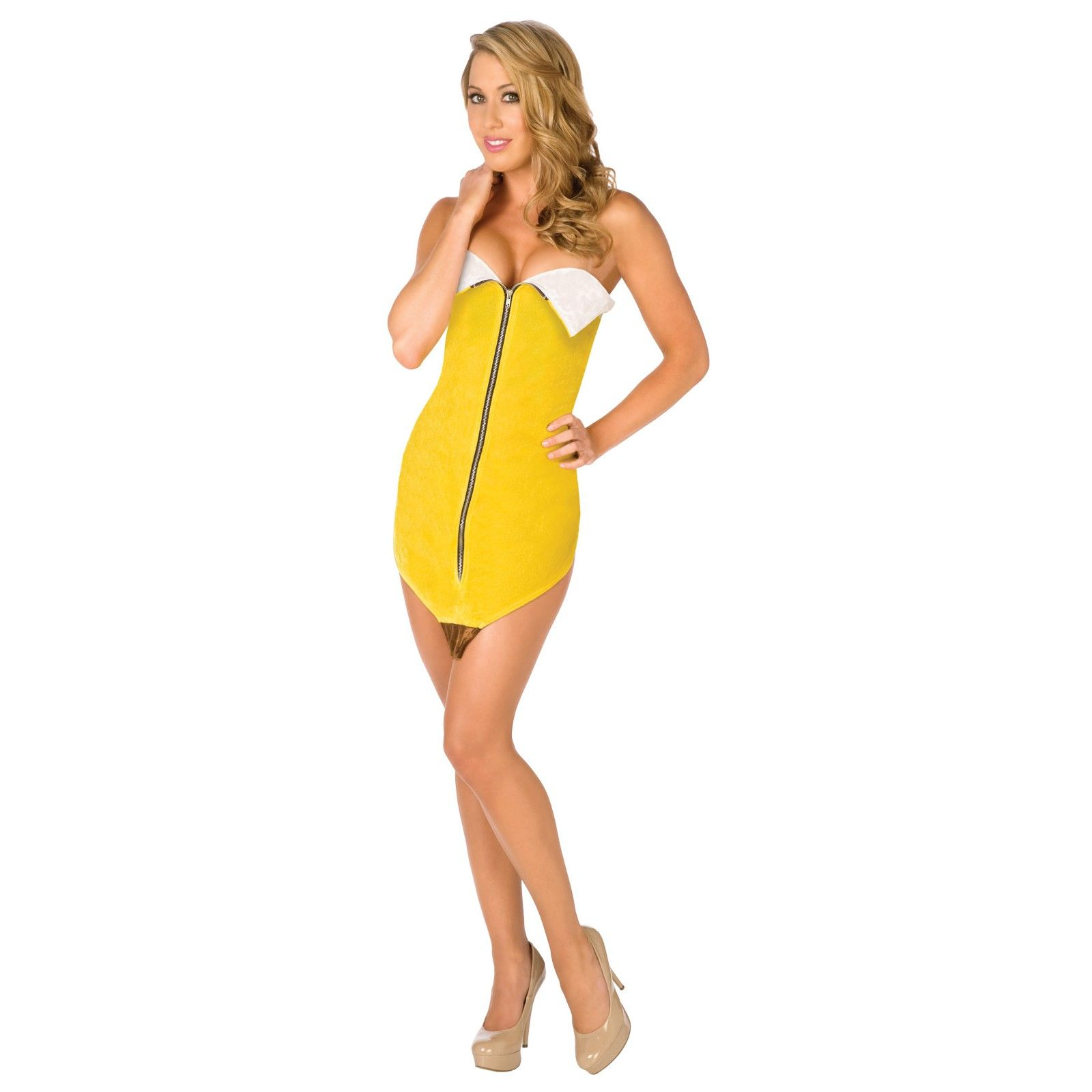 banana deluxe adult costume - Banana Costume Halloween