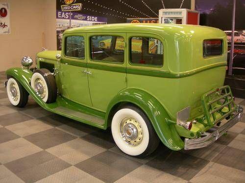 1932 Chrysler Custom 4 Door Sedan Chrysler Coupe Classic Cars Cars Trucks