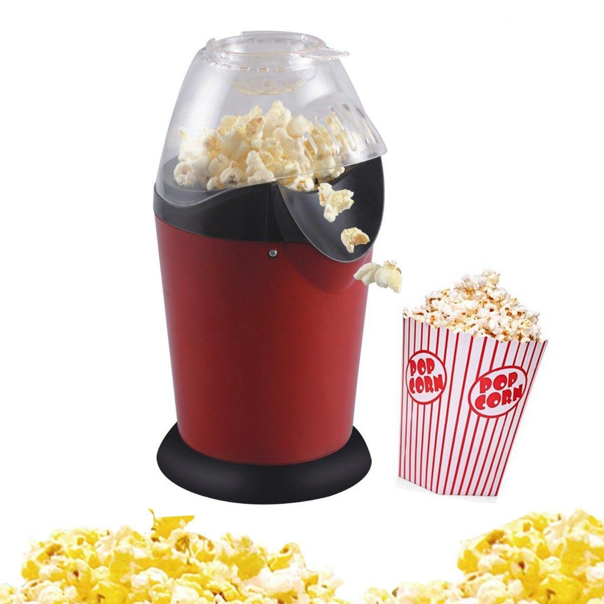 Mini Household Healthy Hot Air Oilfree Round Popcorn