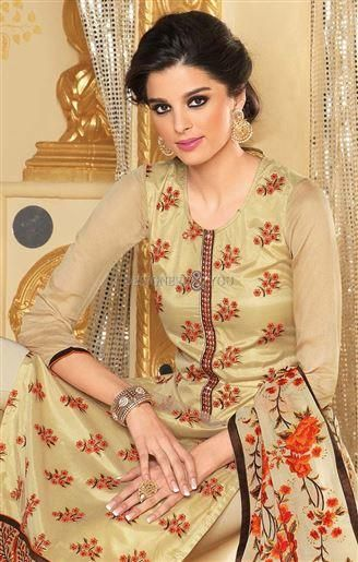 Pakistani Party Dress With New Embroidery Designs Aline Salwar