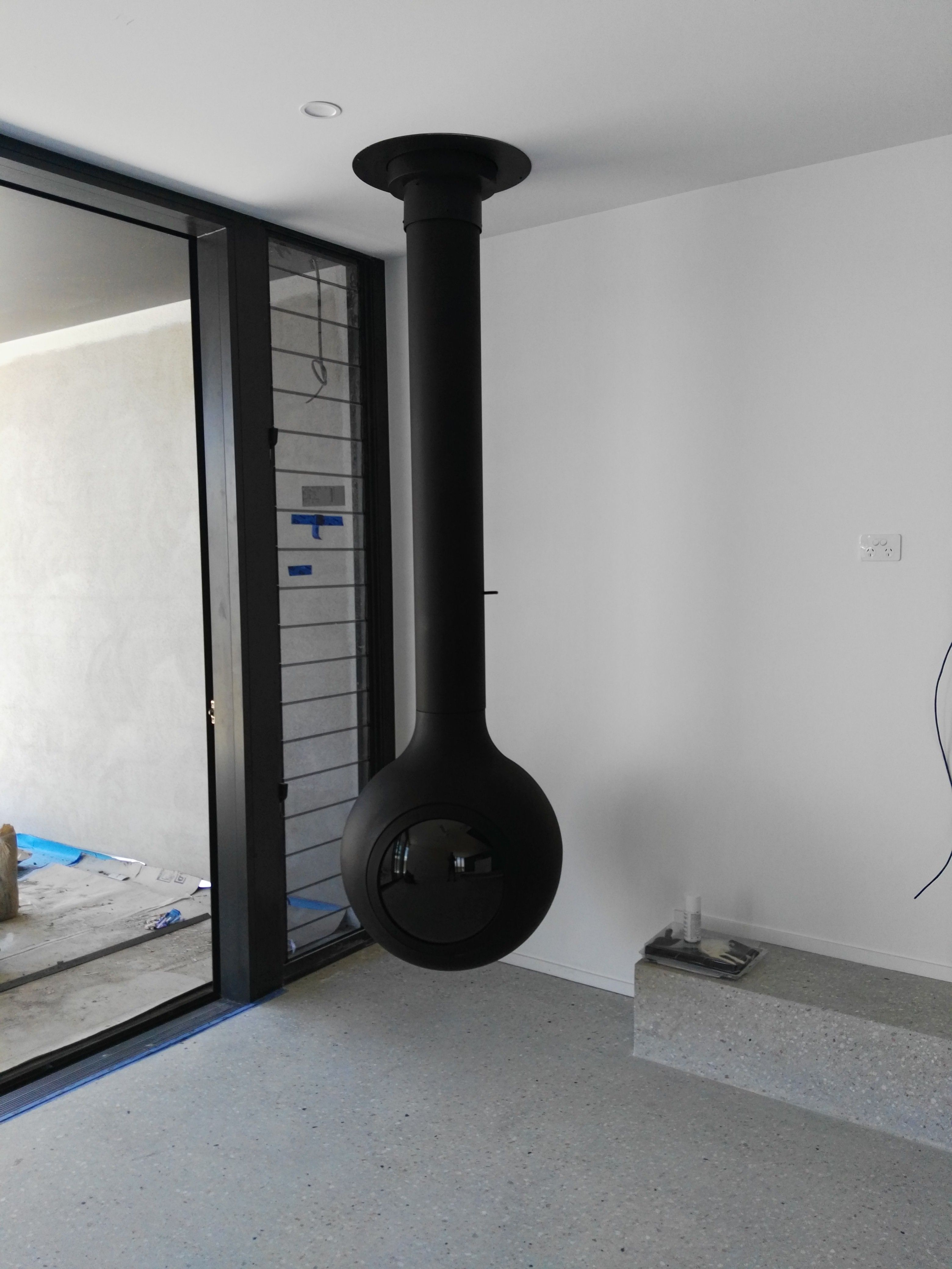 Focus bathysca hublot fireplace installations by mr stoves