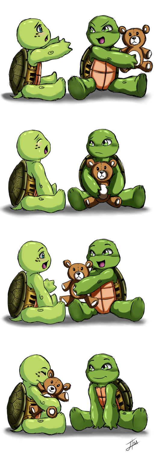 A lesson in compassion by BakaMeganekko on deviantART  Those cute