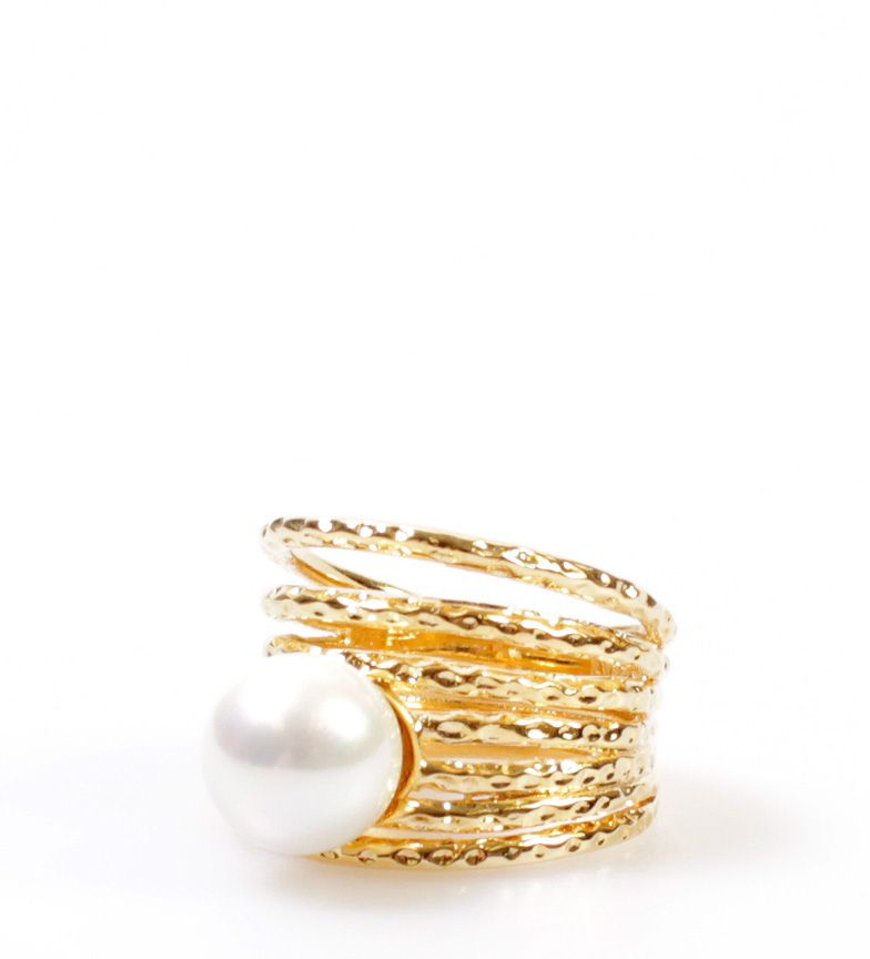2400524e04ec Pertegaz -Perlas y Bisutería- Anillo con perlas de Mallorca Alba ...