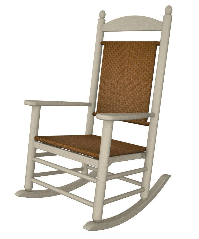 Jefferson Woven Rocking Chair Rocking Chair Patio Rocking Chairs Outdoor Rocking Chairs