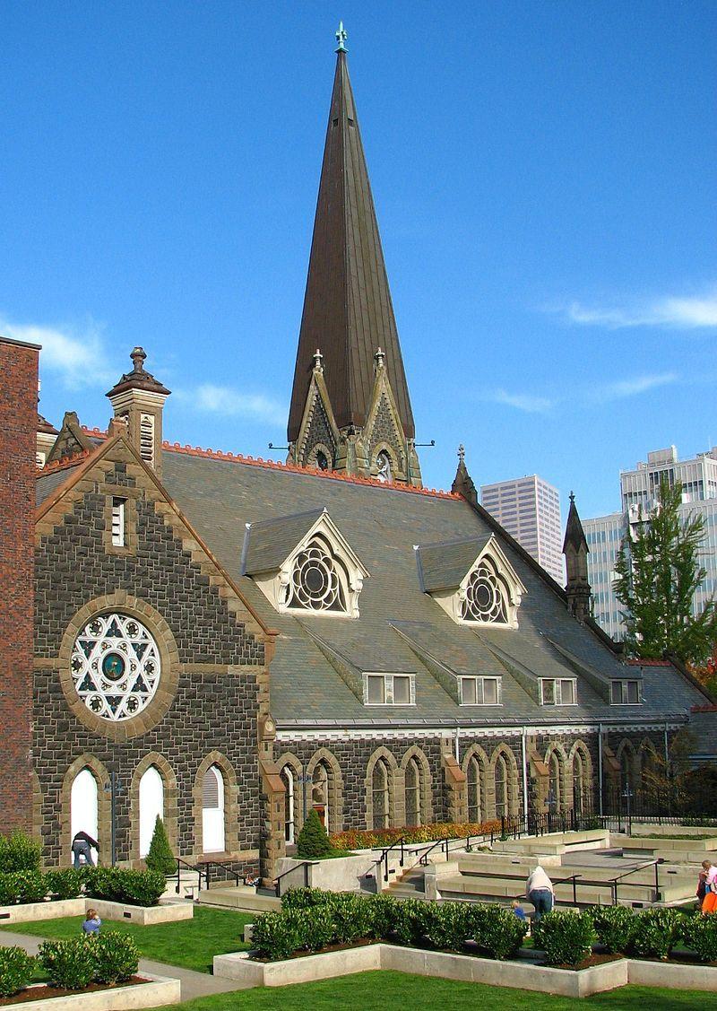First Presbyterian Church of Portland in Southwest Portland, Oregon.