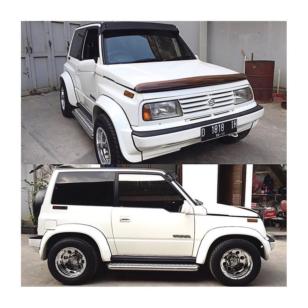 Candra Jo On Instagram Suzuki Vitara Escudo Sidekick Suv Jeep 4x4 Usdm Tracker Geotracker Fatboy Suzuki Vitara 4x4 Suzuki Jimny Suzuki Vitara Jlx