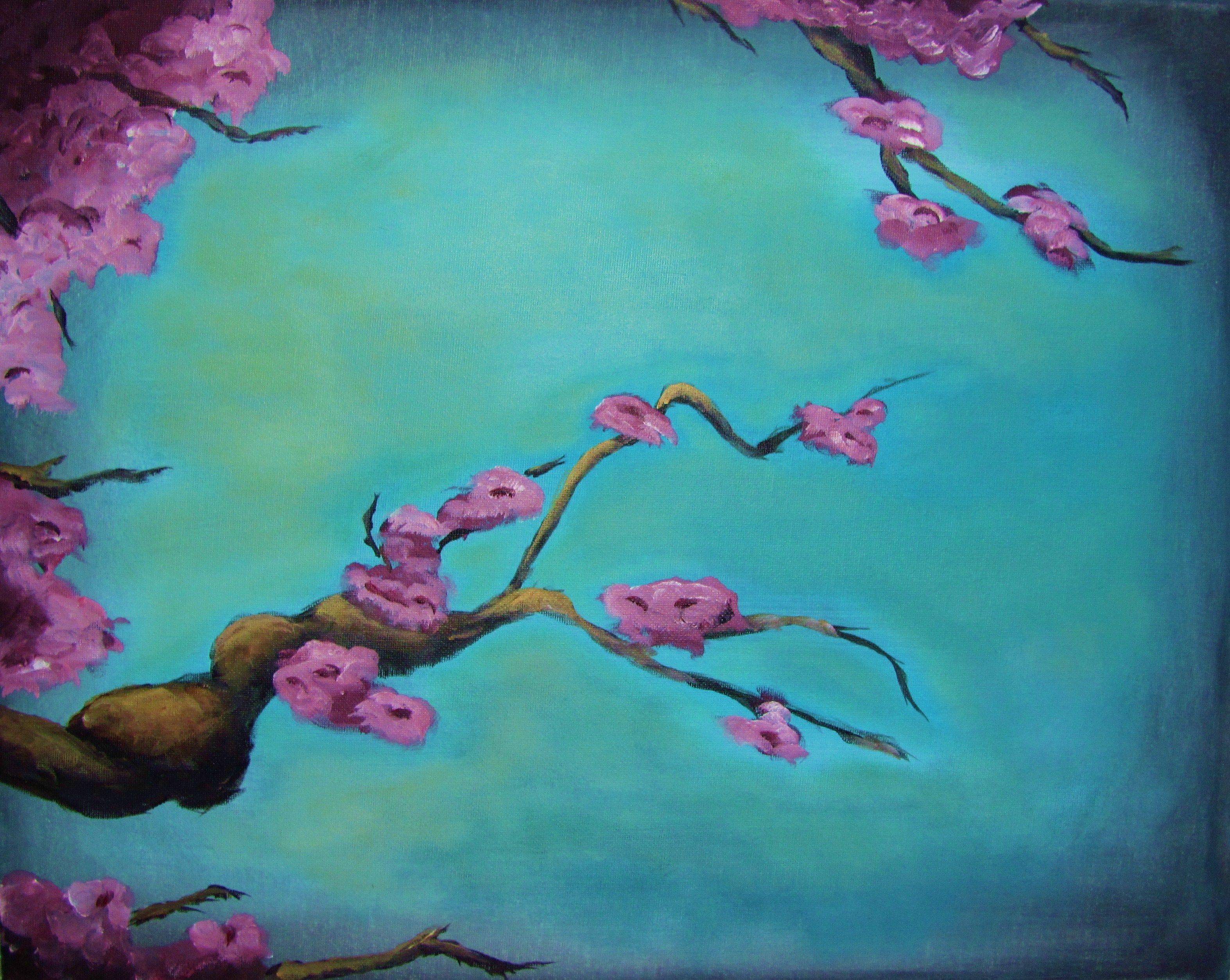 Japanese Cherry Blossoms — Social Art