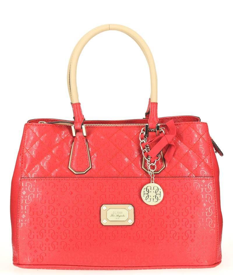 Sac Guess Mini Cabas Delaney Rouge 2016 Bags Tote Bag Tote
