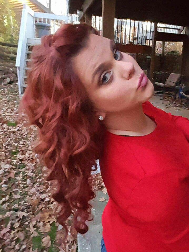 Red chelsea houska inspired hair   Long hair styles, Hair styles, Hair