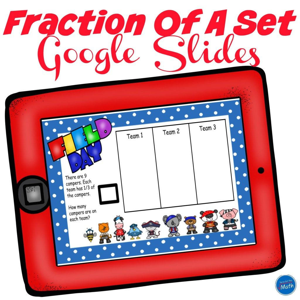 Free fraction of a number activity with read a loud in