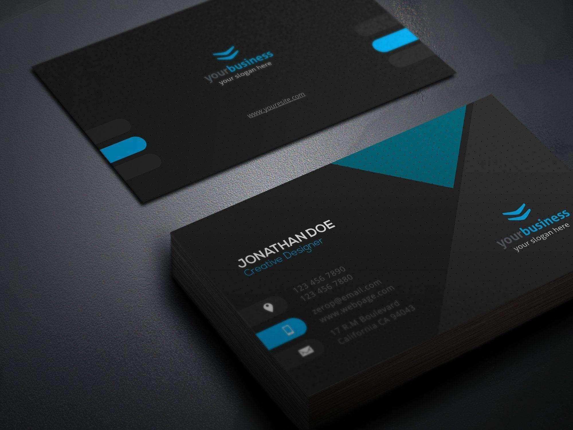 Design A Business Card Free Template Business Card Template Illustrator Free Business Card Design Templates Sample Business Cards Business Card Template Design