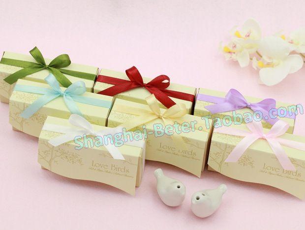 M1688 Offer 520965216108 Wedding Favors And GiftsParty FavorsShower FavorsLove BirdsPepperSaltsFree