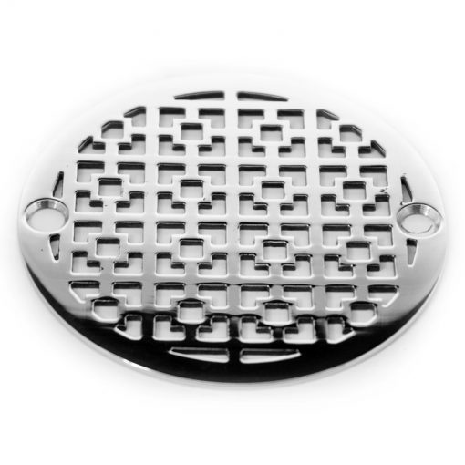 Nds 3 Round Drain Geometric Squares No 1 Shower Drain