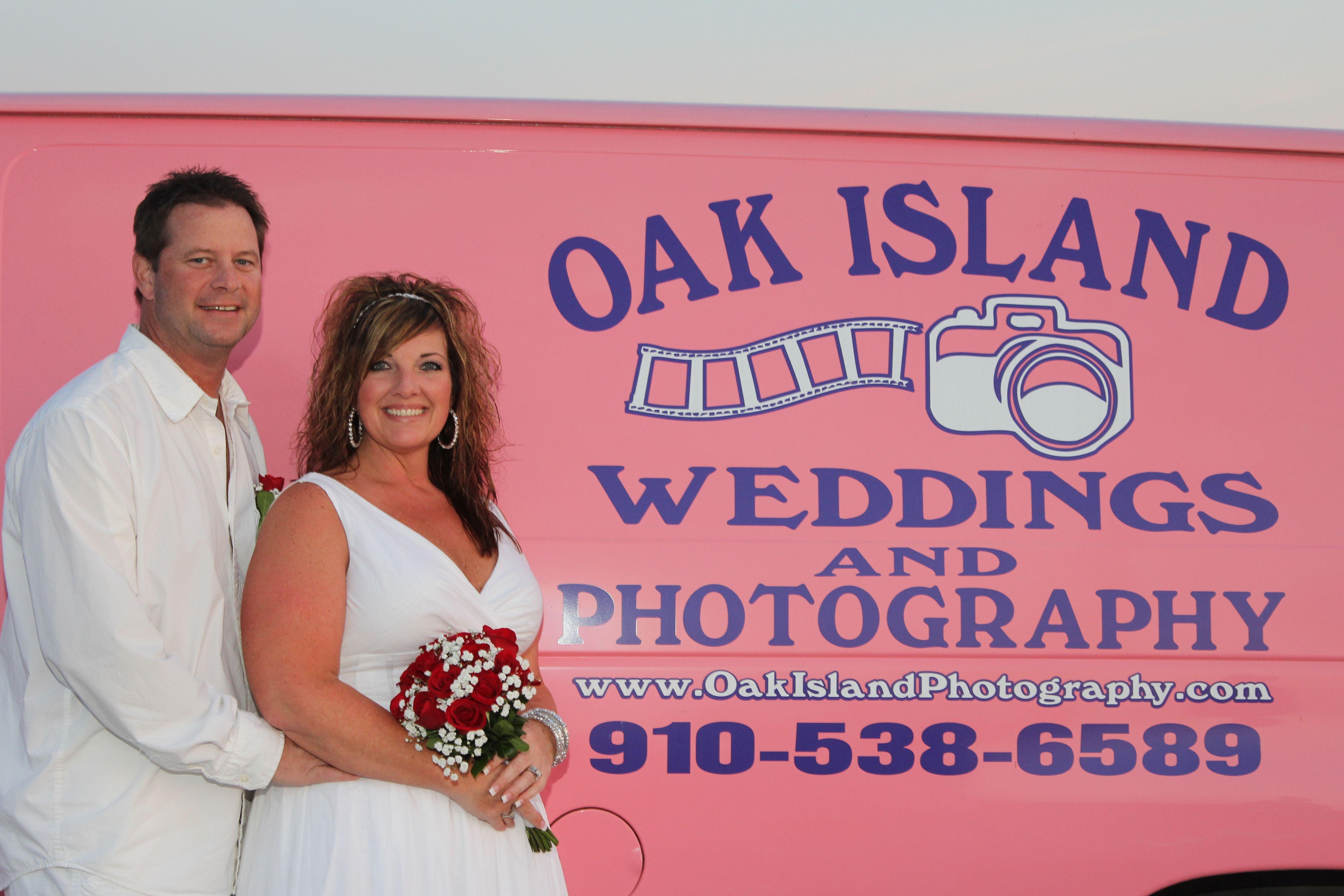 Just Look For The Pink Van On Oak Island We Are Your One Stop Wedding Shop Oak Island Island Weddings Wedding Shop